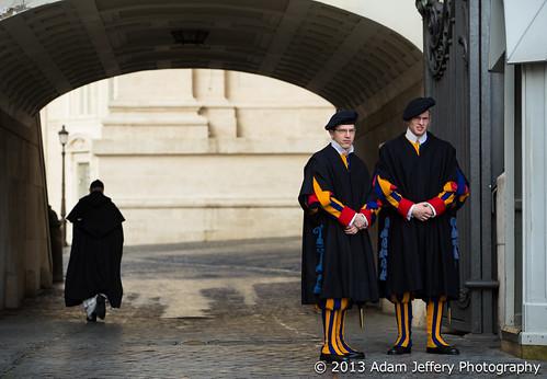 Vatican Swiss Guard - St. Peter's Basilica - Vatican City - Italy