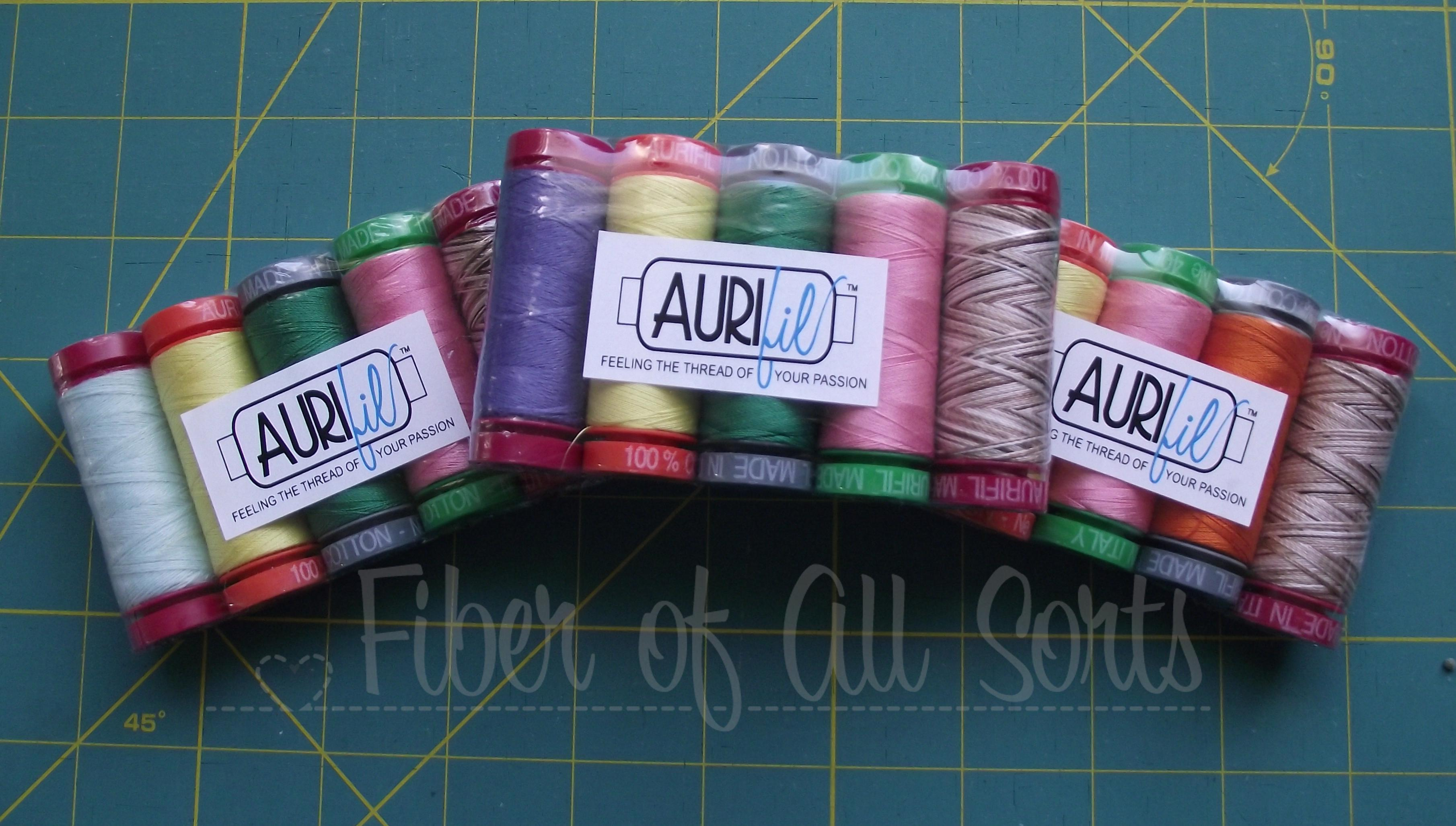 March ALYoF Aurifil winnings