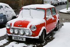 Snowy Bury St Edmunds