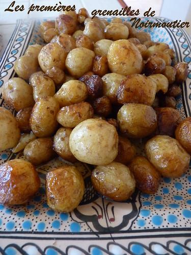 Pommes de terre nouvelles de Noirmoutier