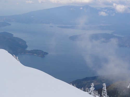 Howe Sound from Cypress Mountain