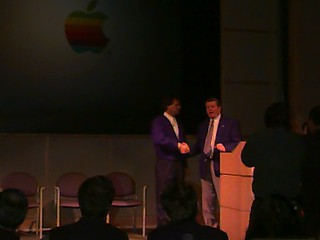 Steve Jobs & Gil Amelio, Apple Town Hall - 12 20 96