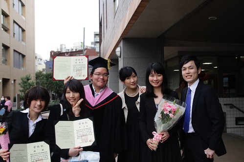 After my graduation ceremony (March 26, 2013)