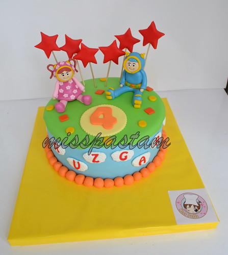 umizoomi cake by MİSSPASTAM
