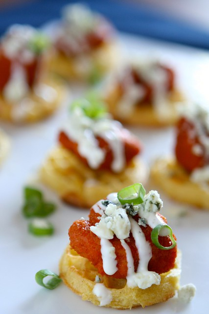 Buffalo Chicken Eggo Bites 002