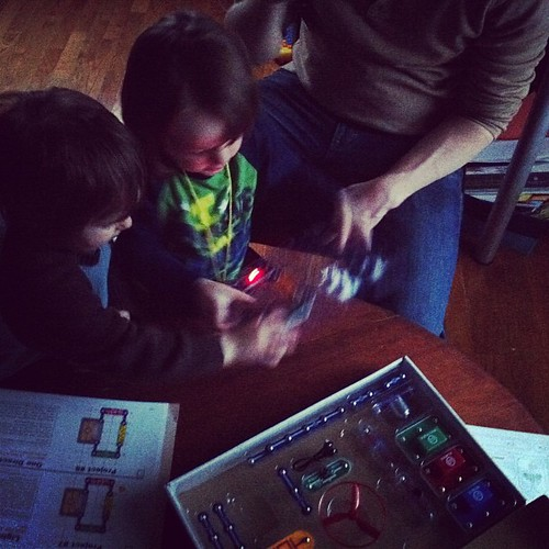 K builds his first circuit board