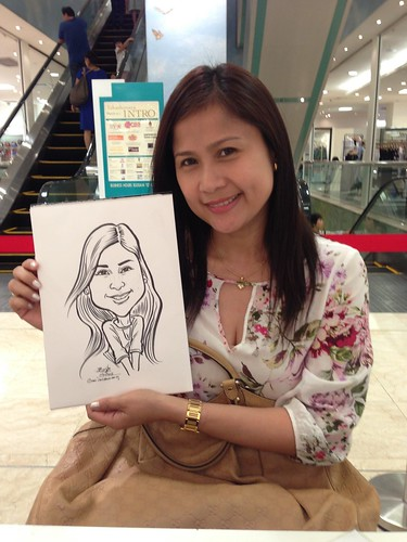 caricature live sketching for Takashimaya Good Friday Special - 1