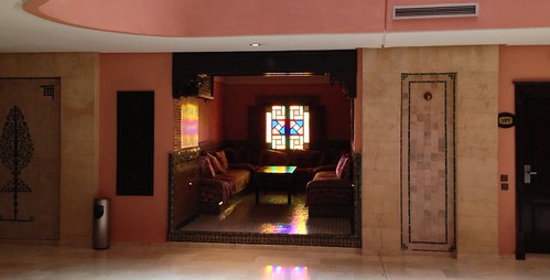 Lobby hôtel Ryad Mogador Menzah, Marrakech