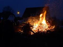 Gründonnerstag 2013: Osterfeuer in Ragow #2