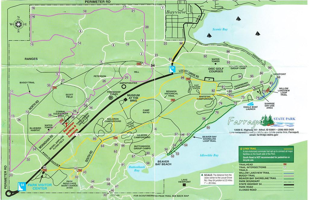 Farragut State Park Map Idaho Mapcarta: Farragut State Park Map At Usa Maps