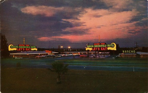 Rancho Bakersfield Motel, California