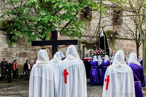 Semana Santa en A Coruña - Vía Crucis Penitencial