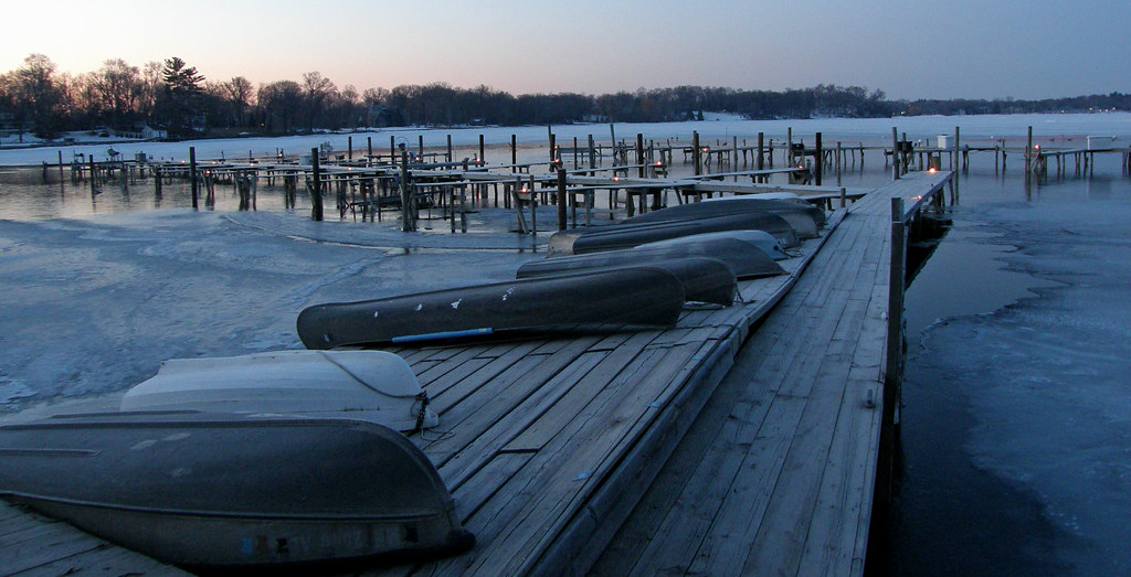 Lake Minnetonka Docks April 2 at 6am
