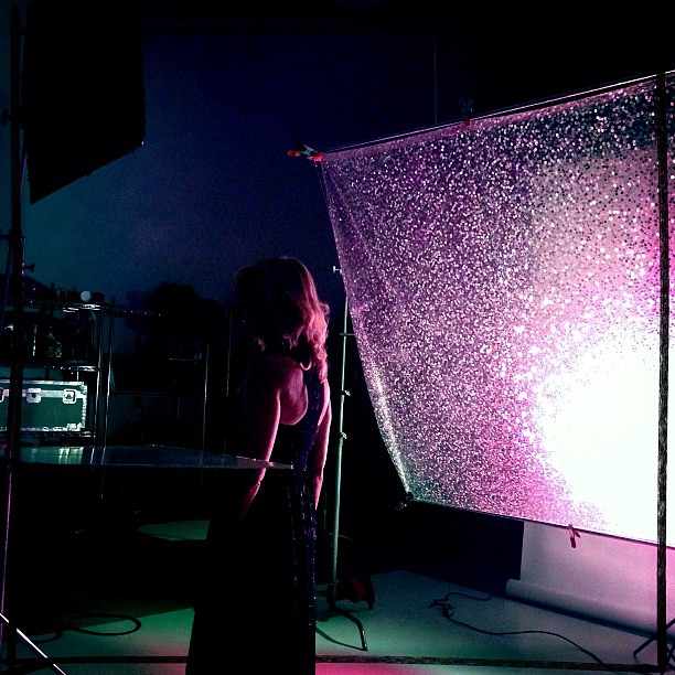 Sparkle #behindthescenes #studiolighting