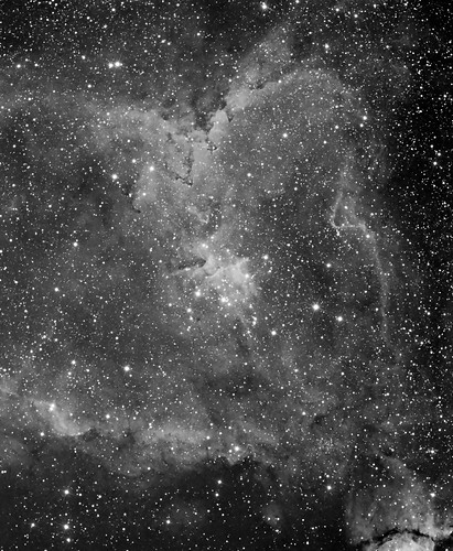 The Heart Nebula IC1805 (Well, half a Heart) by Mick Hyde