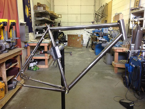 Eric's disc allroad is on it's way back from paint.