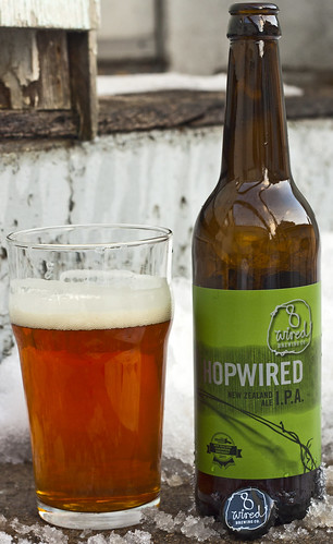 Review: 8 Wired Hopwired India Pale Ale by Cody La Bière
