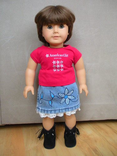 Denim Doll Skirt