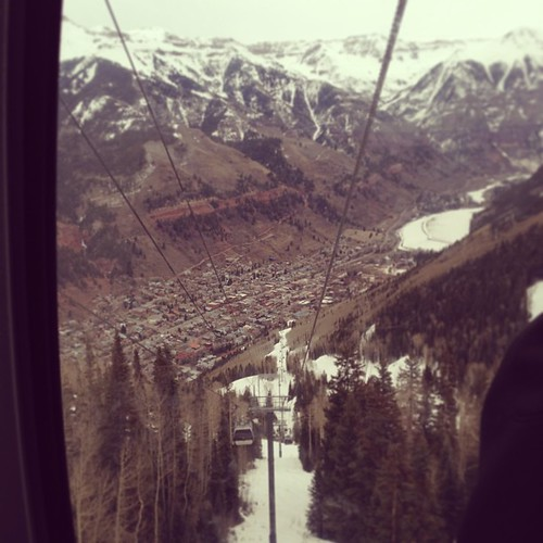 A day trip to Telluride was about the best thing that could have happened to me this weekend.