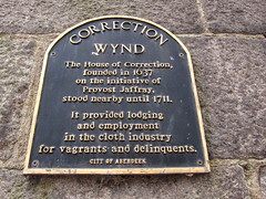 Photo of Aberdeen House of Correction black plaque