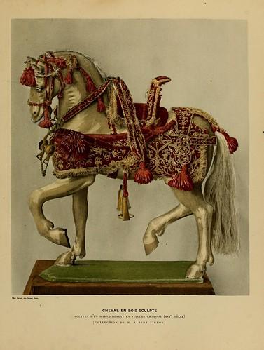 001-Caballo de madera esculpida siglo XVI-Histoire des jouets….1902- Henry René d' Allemagne