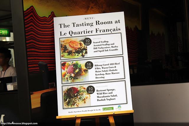 Savour 2013 - The Tasting Room