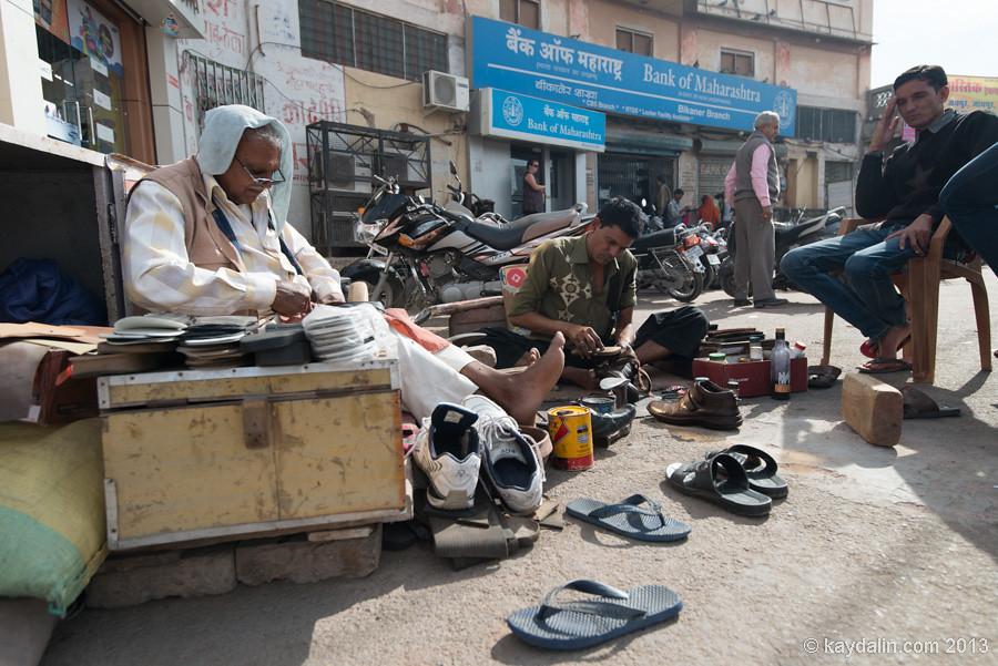 Bikaner Town, India