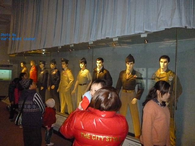 中華民國的空軍區 空軍服裝之演進