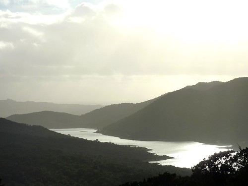 Sentier de Chera : le lac du barrage de Santa Lucia - Talza