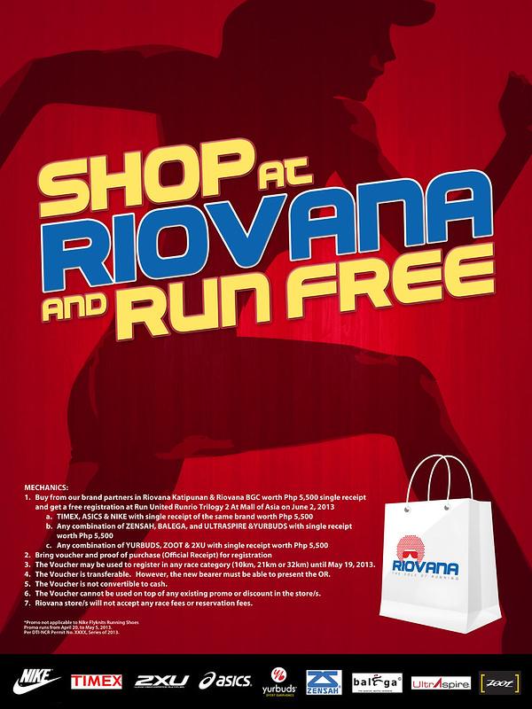 Riovana Promo - Shop and Run