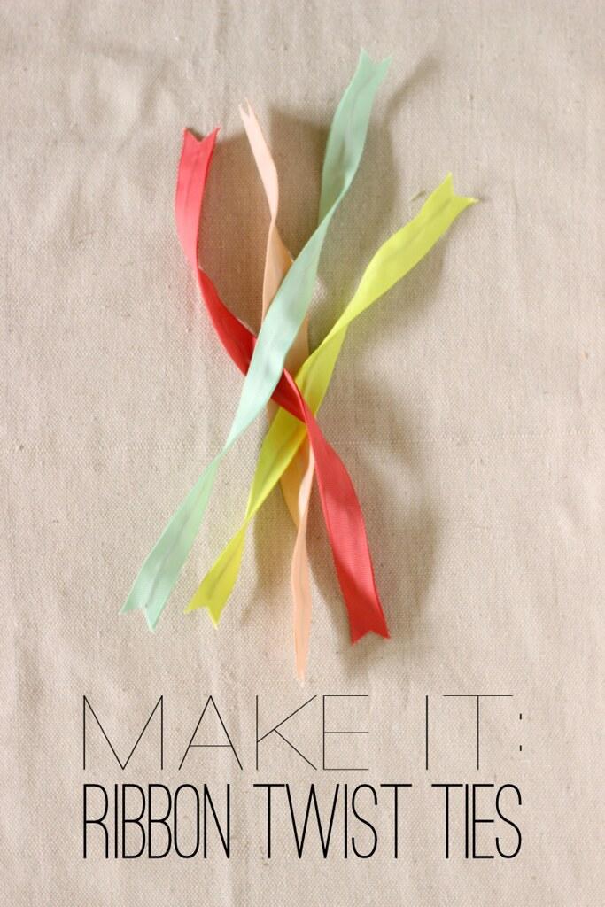 Fabric Paper Glue Try This Ribbon Twist Ties For Lynn Lou