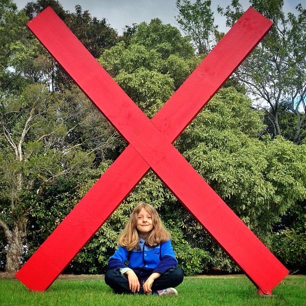 X marks Little Owlet. || #letterx