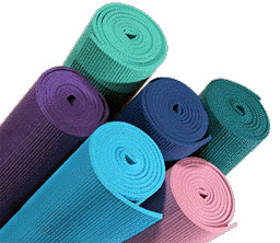 Hi. These are yoga mats.  They look like pool foam noodles.