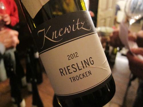 2012 Knewitz Riesling