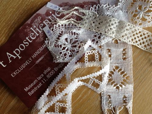Bruges - lace scraps
