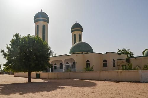 Image: Une mosquée près de Ndiagne