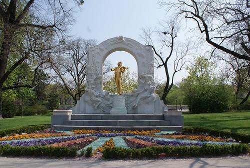 Johann Strauss in Stadtpark Wien
