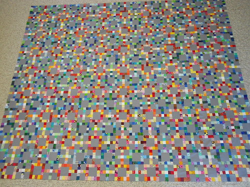 Pipe Dream quilt top