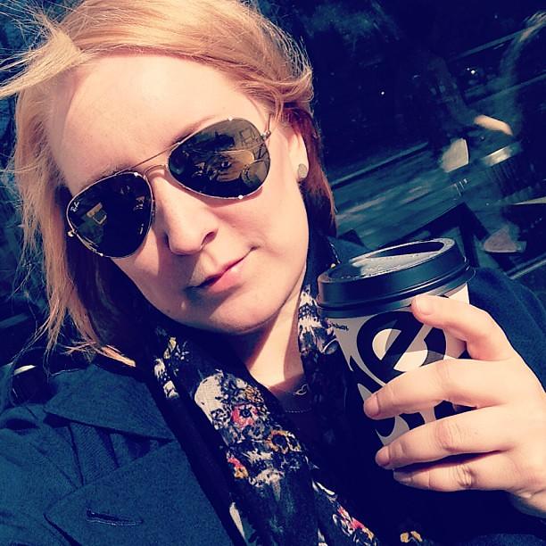 Kaffe. Sol. Ahhhh.
