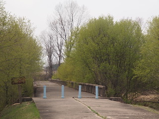 板門店 捕虜交換の橋(今は使われていない)