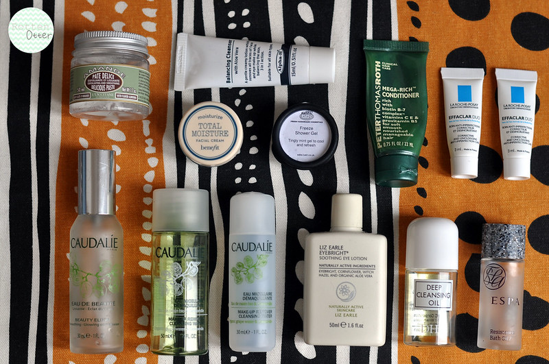 april 2013 beauty empties products i have finished used up rottenotter rotten otter blog 1