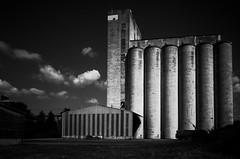 Silo à grain à Corbeil Essonnes