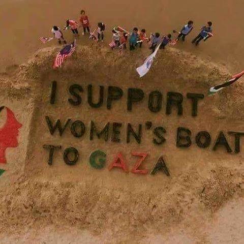 Gaza con Mujeres Rumbo a Gaza