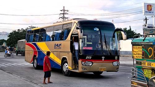 dalin bus line liner 272 aparri cagayan baguio city philippines