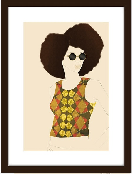 Rocking My Afro In My African Wax Print_Digital Revolve
