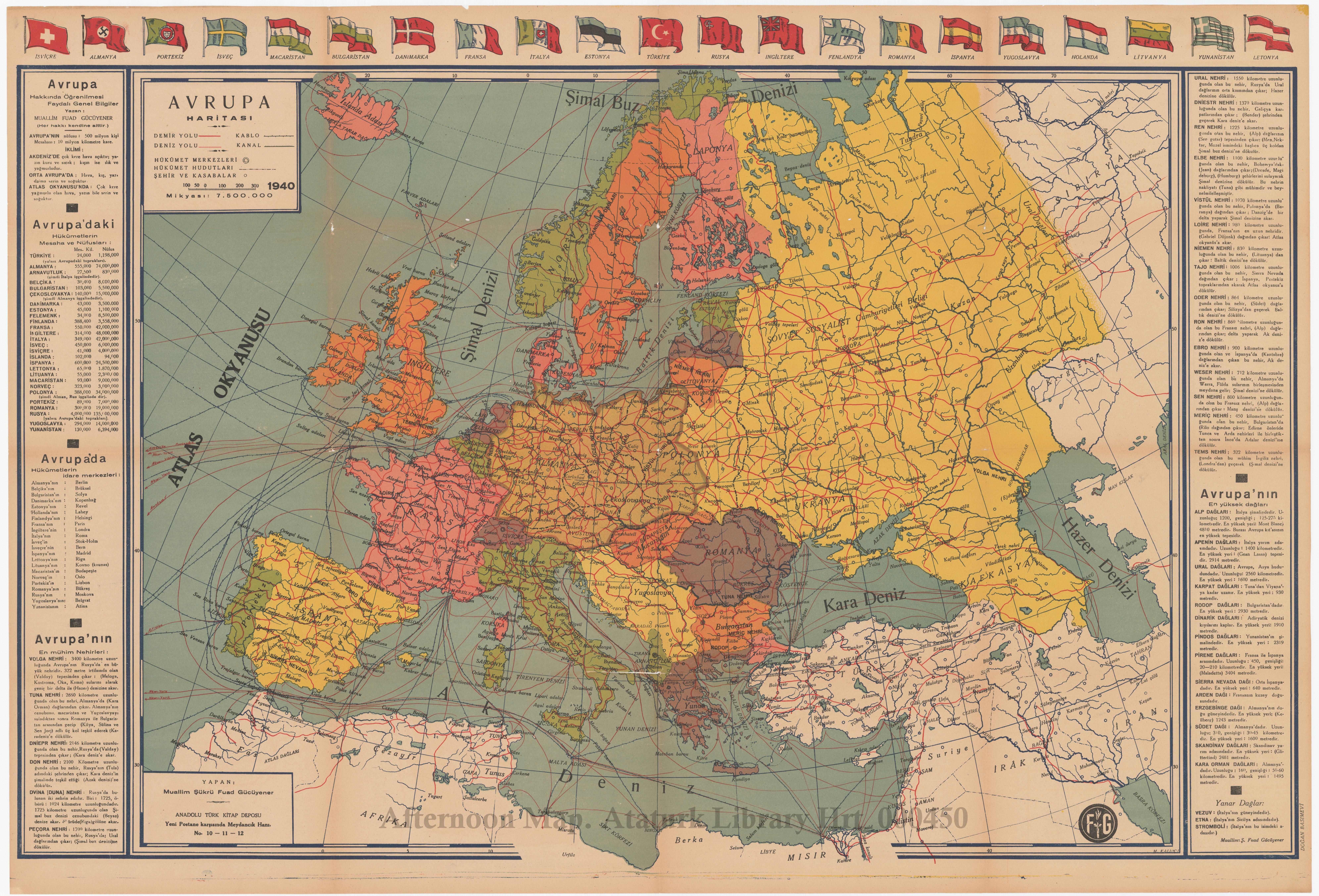 Afternoon Map: Europe at War