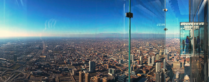 Photo on a Ledge - Willis (Sears) Tower, Chicago