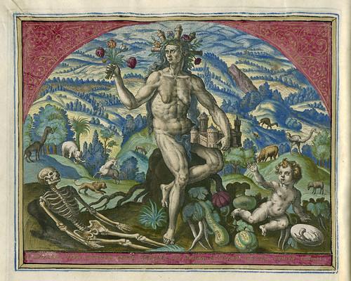 007-Tierra, Adriaen Collaert de 1582-Rijksmuseum API Collectie