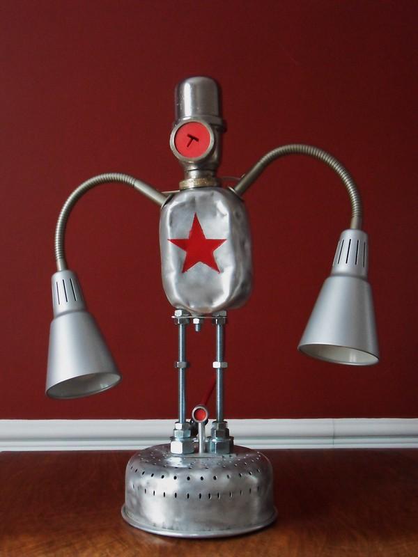 robot lamp Borislav