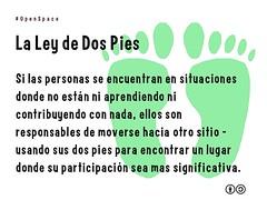 La Ley de Dos Pies #openspace